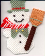 Winter things for Snowman pocket tissues